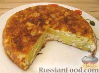 Фото к рецепту: Тортилья (картофельная запеканка по-испански)
