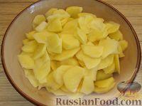 Фото приготовления рецепта: Тортилья (картофельная запеканка по-испански) - шаг №3