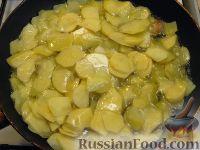 Фото приготовления рецепта: Тортилья (картофельная запеканка по-испански) - шаг №5