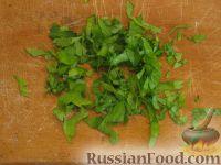 Фото приготовления рецепта: Салат с креветками и помидорами - шаг №2