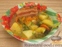 Фото к рецепту: Айнтопф со свиными ребрами