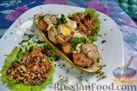 Фото к рецепту: Зразы с перепелиными яйцами