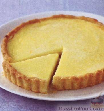 Рецепт Лимонно-миндальный пирог