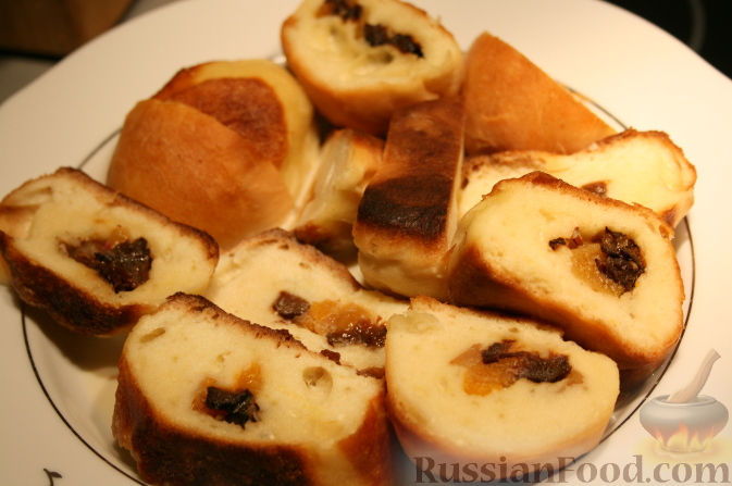 десерт из черствой булки рецепты
