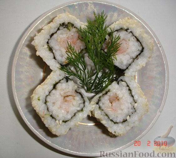Рецепт Суши по-домашнему