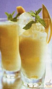 Рецепт Манговый ласси со льдом