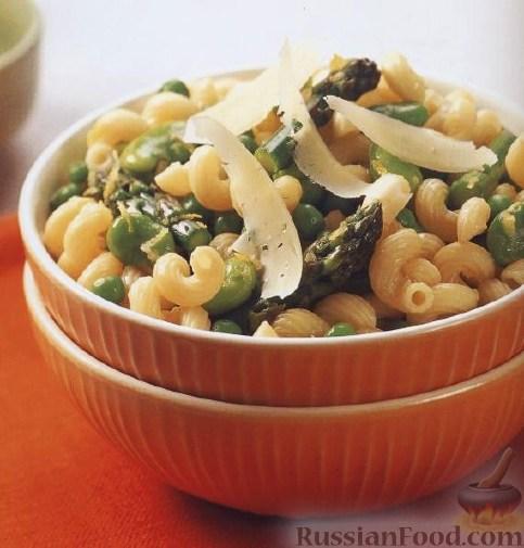 Рецепт Паста (макароны-рожки) с овощами