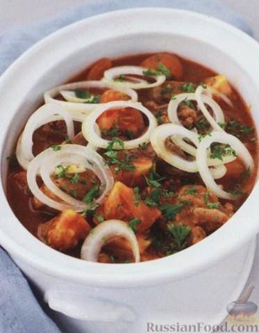 как приготовить суп солянку со свиными костями