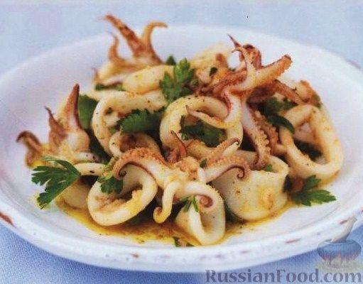 Рецепт Маринованные осьминожки