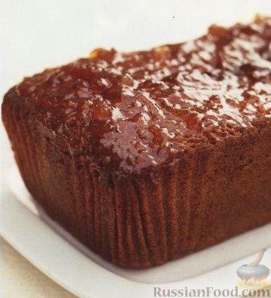 Рецепт Кекс с джемом, имбирем и корицей