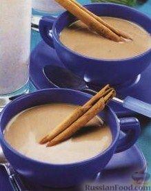 Рецепт Кофе с молоком и корицей по-мексикански (Cafe con Leche)