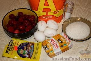 Фото приготовления рецепта: Профитроли с клубничной начинкой - шаг №1