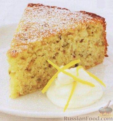 Рецепт Цитрусовый пирог с орехами