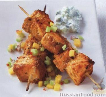 Рецепт Рыбные шашлыки