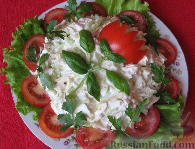 простые салаты рецепты с фото на день рождения