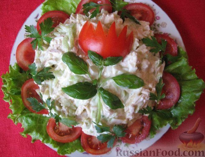 вкусный салатик на день рождения рецепт с фото