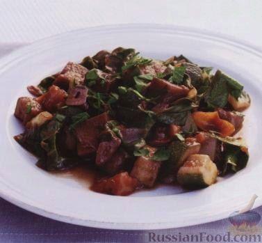 Рецепт Овощное рагу (рататуй)