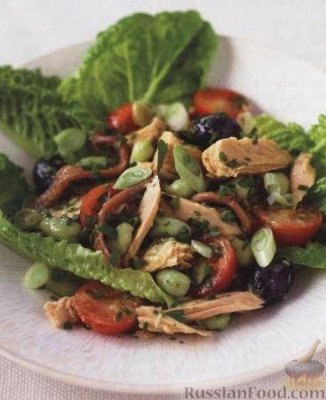 Рецепт Салат «Ницца» с тунцом