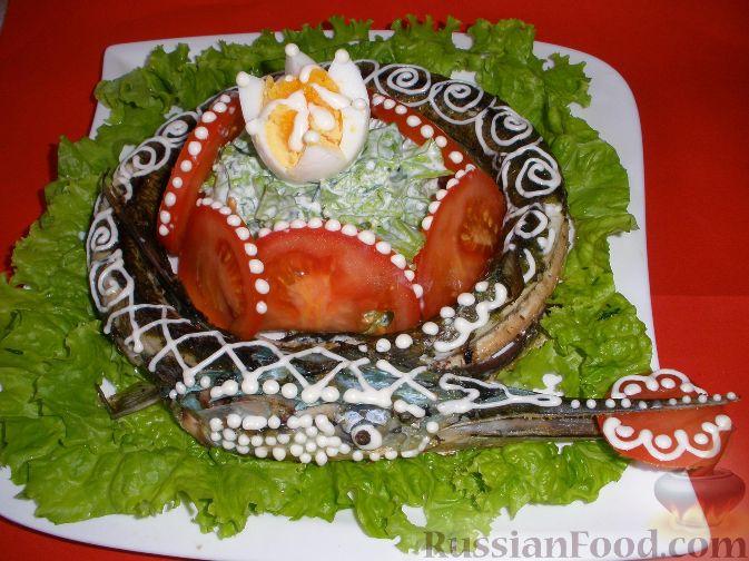Рецепт Запеченная рыба, не фаршированная