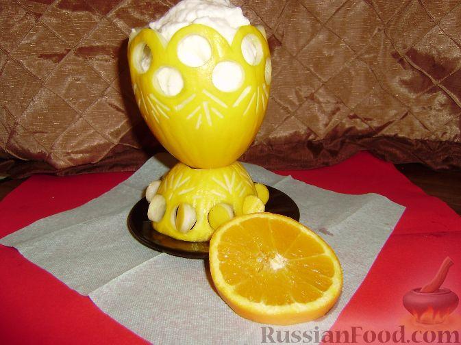 Рецепт Мусс лимонно-апельсиновый