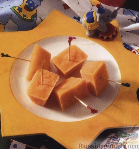 Рецепт Замороженный фруктовый сок (сорбет)