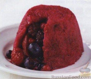 Рецепт Летние пудинги со свежими ягодами