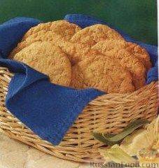 Рецепт Овсяное печенье с кокосом