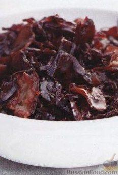 Рецепт Кисло-сладкая красная капуста