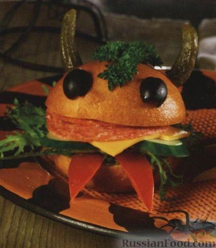 Рецепт Забавные сэндвичи