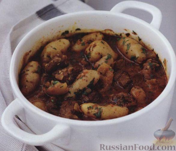 Рецепт Баранина (ягнятина) с картофелем