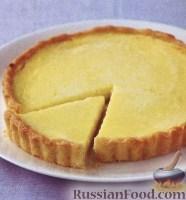 Фото к рецепту: Лимонно-миндальный пирог