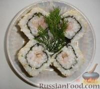 Фото к рецепту: Суши по-домашнему