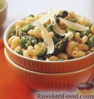 Фото к рецепту: Паста (макароны-рожки) с овощами