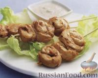 Фото к рецепту: Куриные шашлычки «сатэ»