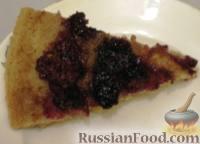 Фото к рецепту: Ежевичный пирог
