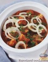 Фото к рецепту: Гуляш (суп) из свинины