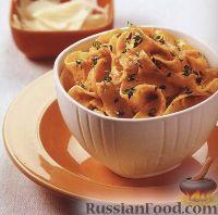 Фото к рецепту: Лапша Паппарделле с тыквенным соусом