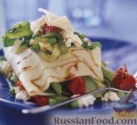 Фото к рецепту: Лазанья со свежими овощами