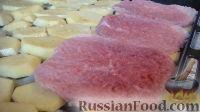 Фото приготовления рецепта: Мясо по-французски - шаг №5