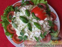 Фото приготовления рецепта: Салат «День рождения» - шаг №9