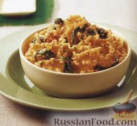 Фото к рецепту: Паста лазаньетте с грецкими орехами и сыром