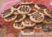 Фото к рецепту: Печенье песочное с шоколадом