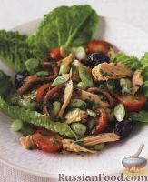 Фото к рецепту: Салат «Ницца» с тунцом