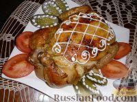 Фото к рецепту: Курица фаршированная