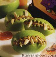 Фото к рецепту: Яблоки с орехами