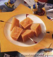 Фото к рецепту: Замороженный фруктовый сок (сорбет)