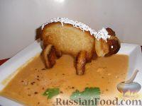 Фото к рецепту: Суп-пюре тыквенный