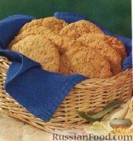 Фото к рецепту: Овсяное печенье с кокосом
