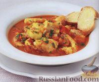 Фото к рецепту: Морская рыба с помидорами