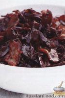 Фото к рецепту: Кисло-сладкая красная капуста